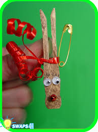 rudolf the red nosed reindeer christmas scout swaps craft kit