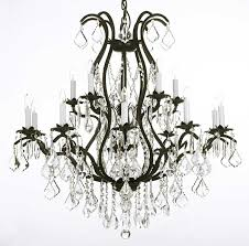 Black Iron Chandeliers Chandelier Inspiring Iron And Chandeliers Glamorous Iron