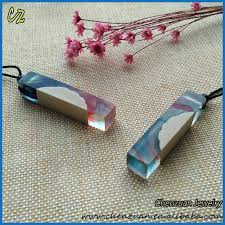 resin necklace pendants images New arrival wood resin jewelry epoxy resin raw wood necklace jpg