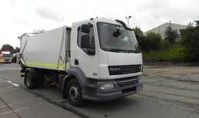 used truck of the week daf lf55 220 4x2 refuse vehicle from 2010