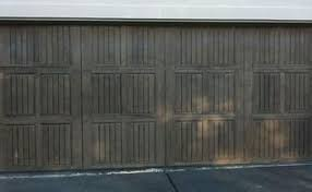 Faux Paint Garage Door - i am going to be a grandma hometalk