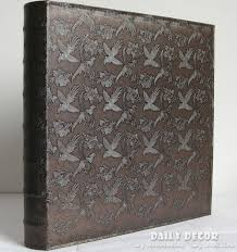 high capacity photo album large capacity pu leather cover and plastic sheets photo album