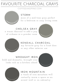 Dark Grey Accent Wall by Favorite Gray Paint Colors For Your Home Diy Paintcolor