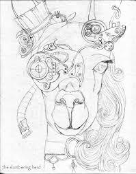 copic markers the slumbering herd art blog part 19