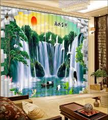 Large Window Drapery Ideas Interiors Wonderful Waterfall Door Curtain Large Window Curtain