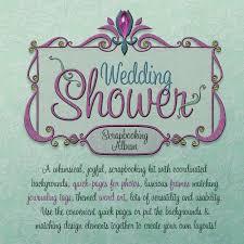 bridal shower photo album jaguarwoman s wedding shower scrapbooking kit jaguarwoman