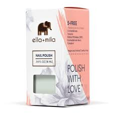 amazon com ella mila nail polish bonbon collection pistache