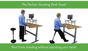 Standing At Your Desk Vs Sitting by Amazon Com Wobble Stool Adjustable Height Active Sitting Chair