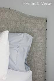 Light Grey Headboard Beds Headboards Grey Wingback Upholstered Headboard Full Queen