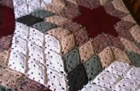 tutorial piastrelle uncinetto coperta uncinetto effetto stella