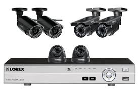 4 channel system with 2 wireless security cameras lorex