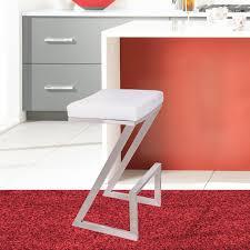 modern stools kitchen sophisticated shelly swivel bar stool mid century modern bar