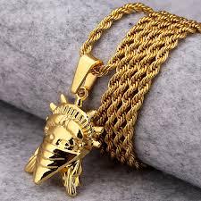 aliexpress buy nyuk new fashion american style gold nyuk hip hop jewelry gold american rebel statue of liberty pendant