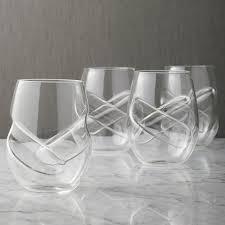 aerating wine glasses set of 4 wine enthusiast