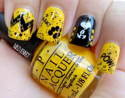 christmas nail art tutorial peanuts nails youtube snoopy nail art