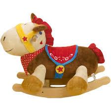Rocking Horse High Chair Amazon Com Rockabye Colt Pony Rocker One Size Toys U0026 Games