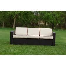 curved patio sofa wayfair
