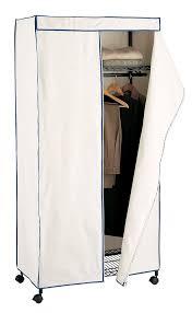 new portable storage wardrobe closet fabric cover bedroom