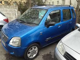 suzuki wagon r 1 3 5 dr hatchback metallic blue 2003 open 7 days