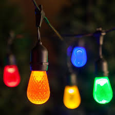 dimmable outdoor led string light commercial grade outdoor led string lights w 10 filament