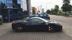 gold and black ferrari ferrari 458 italia black on black armenianpetrolhead youtube