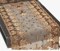 gold christmas table runner bermuda linens gifts pertaining to beaded table runners plans 2