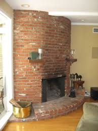 diy brick fireplace remodel e2 80 94 home office interiors loversiq