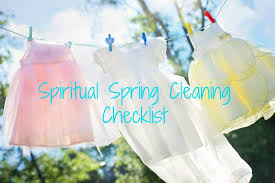 spiritual spring cleaning checklist life letter cafe