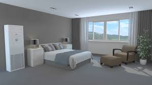 floor mounted air conditioner in a bedroom 3d animation youtube