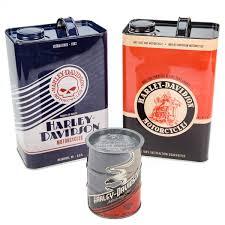 harley davidson nostalgic storage canisters set bar decor