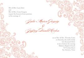 Official Invitation Card Sample 10 Best Images Of Formal Blank Invitation Template Blank Wedding