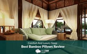 Bamboo Pillow Hotel Comfort Comfort And Luxury Sleep U2013 Best Bamboo Pillows Review