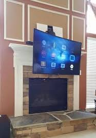 Tv Mount Over Fireplace by Tv Mounting Ideas Charlotte Home Theater Wireless Whole Home Audio