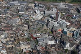 aerial photography of sheffield aerial photograph looking across