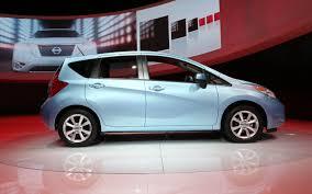 nissan versa fuel economy 2014 nissan versa note first look 2013 detroit auto show motor