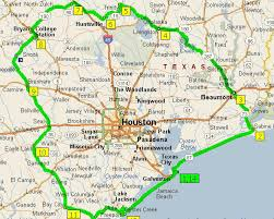 of houston cus map map of us state map