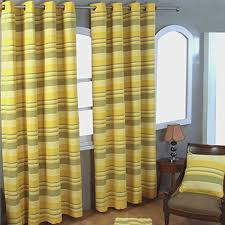 Yellow Stripe Curtains Yellow Stripe Curtain Co Uk