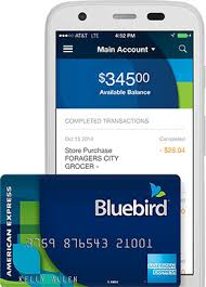 no monthly fee prepaid card alternative to banking bluebird by american express walmart