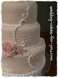 a fondant wedding cake is in your future