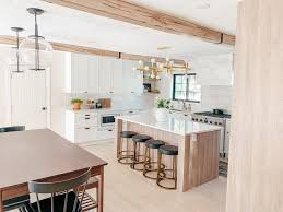 how to install cabinets with uneven ceiling how to install faux wood beams in your home chris