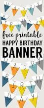 Happy Halloween Banner Printable Free Printable Happy Birthday Banner Paper Trail Design
