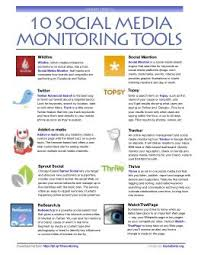 20 free awesome social media monitoring tools socialbrite