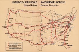 Amtrak Train Station Map by Rail Illinois Transportation History