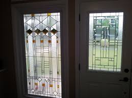 hand made stained glass window
