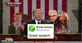State Of The Union Meme - just 23 of the funniest responses to donald trump s state of the