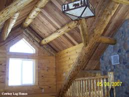 Interior Log Homes Interior Log Home Anatomy Cowboy Log Homes