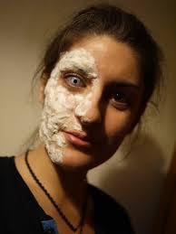 Halloween Makeup Burned Face by Halloween Make Up Moseye
