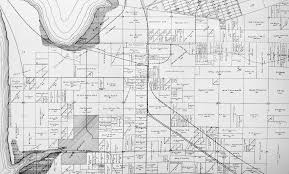 South Los Angeles Map by Oneonta South Bay Historical Society