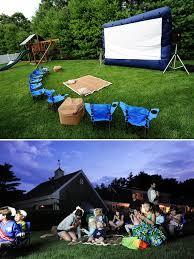 Backyard Movie Night Projector Best 25 Outside Projector Ideas On Pinterest