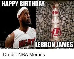 Ebook Meme - happy birthday lebron james brought by fac ebook credit nba memes